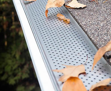 Snap In Gutter Guard Can Load Heavy Duty Debris