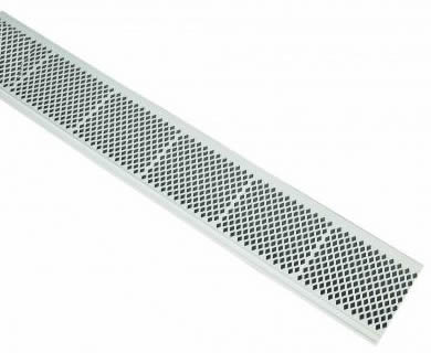 Diamond Pvc Gutter Screen Let Wind Flow The Debris Away