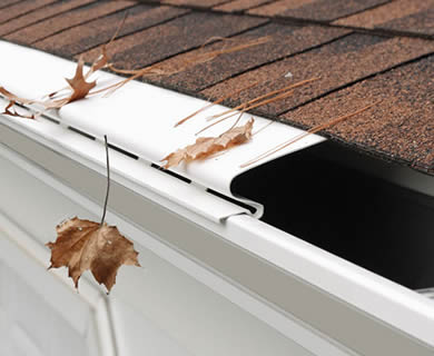Solid Gutter Guard Can Withstand The Harsh Environment